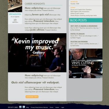 Engineer Page - Kevin Bartley