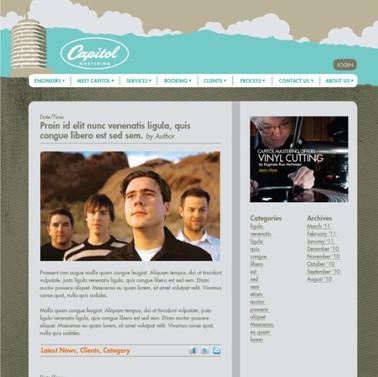 Capitol Mastering blog