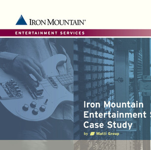 Iron Mountain Enterprise Sales Funnel