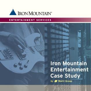 Iron Mountain Enterprise Sales Funnel