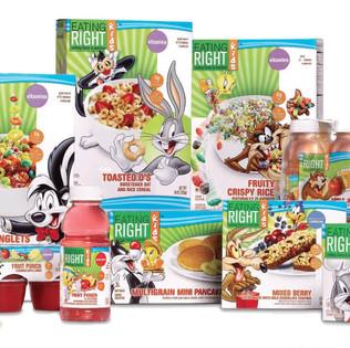 Warner Bros & Safeway co-branded product line