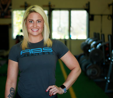 Beth Carr, co-founder of AB's Fitness, personal trainer located in Pflugerville, TX.