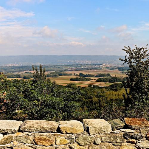 Veduta dell'Anfiteatro Morenico di Ivrea