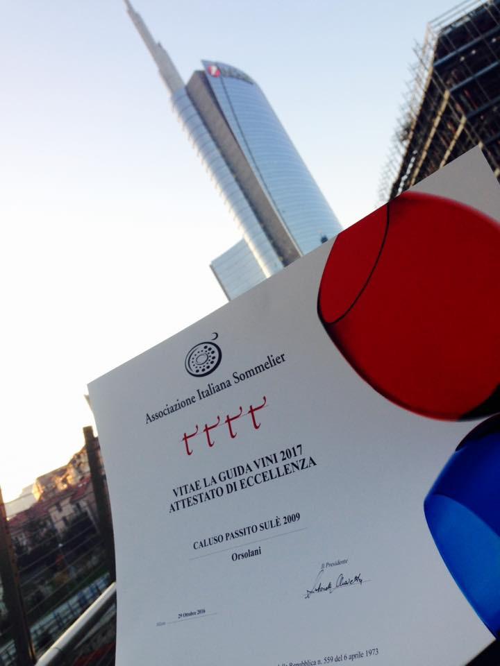 Consegna 4 viti della Guida AIS VITAE, Milano