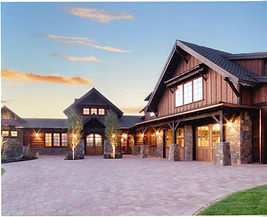FR Custom Builders. Building Custom Homes in Central Oregon. Brasada Ranch Front Facade
