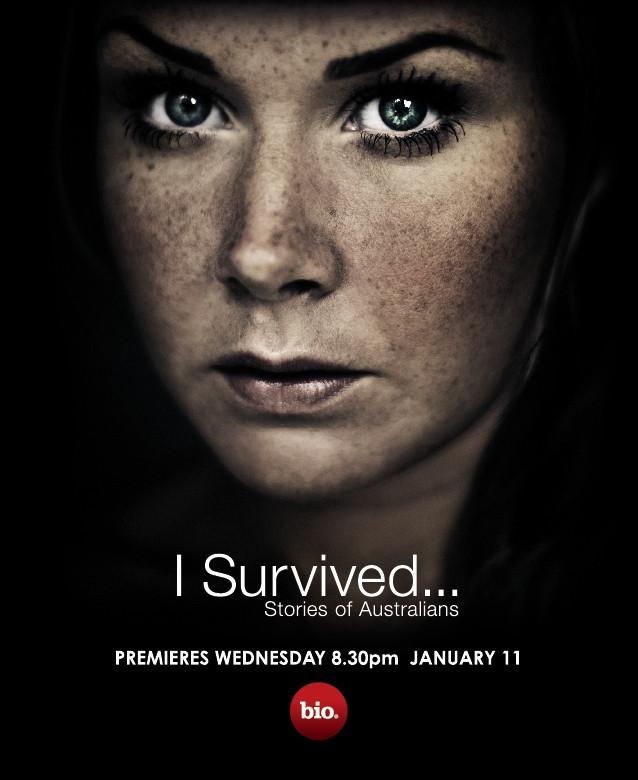 """Poster design """"I Survived"""""""