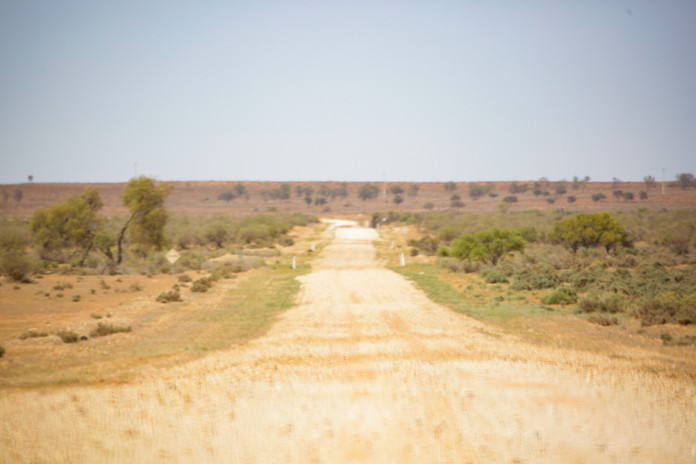 The Louth Road to Wilcannia