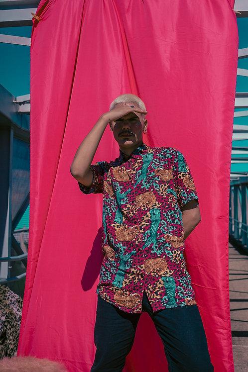 Camisa Viscose Oversized Onça Rara