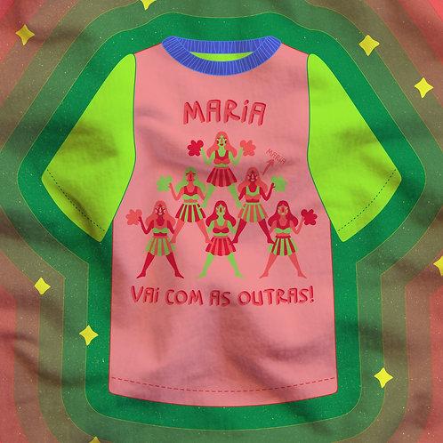 Camiseta Oversized As Marias