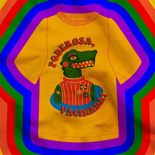 Camiseta Poderosa Vacinada