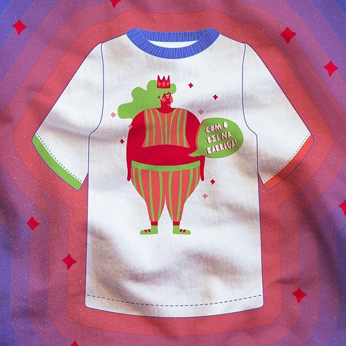 Camiseta Oversized O Rei