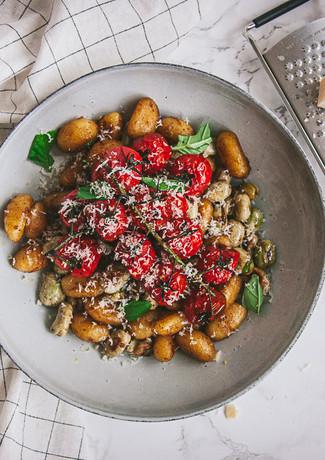 Gnocchi tomaten en tuinbonen (2 van 3).J