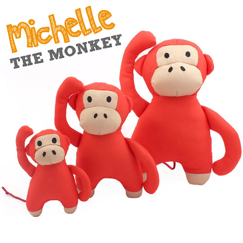 Michelle the Monkey by WoofByBailey