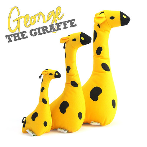 George the Giraffe at WoofbyBailey