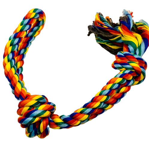 Multicoloured Rope Toys - Knot