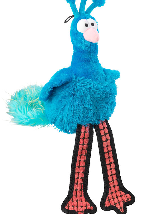 Fluffies Peacock Toy For Dogs