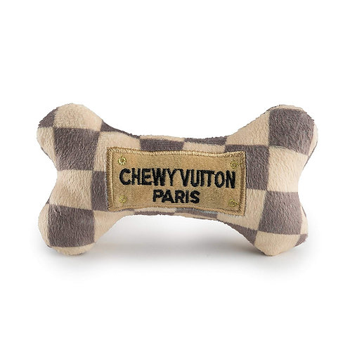 Checker Chewy Vuiton Bone Toy - From £10.00