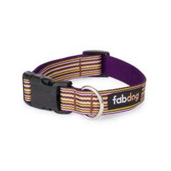 Purple Mini Stripe Collar