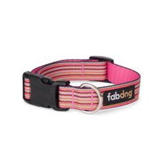 Pink Mini Stripe Collar