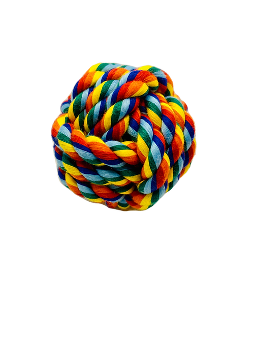 Multicoloured Rope Toys - Ball