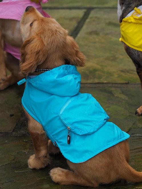 Blue Packaway Raincoat - From £25.00