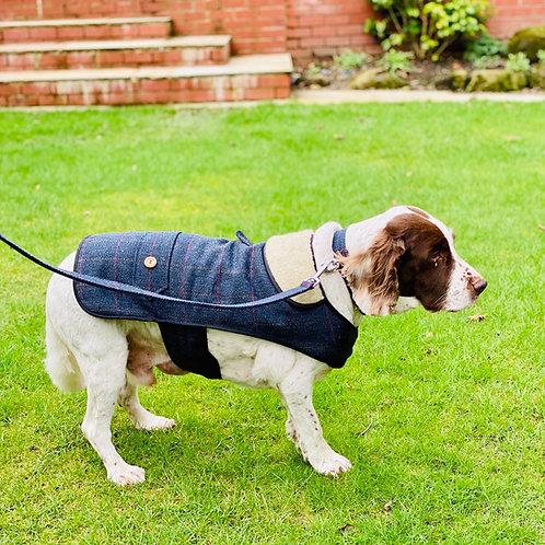 Navy Tweed Coat - From £29.99