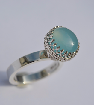 CHALCEDONY PRINCESS RING