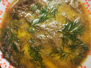 Liver and lamb's heart Pate