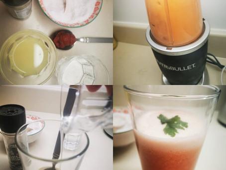 Probiotic tomato juice