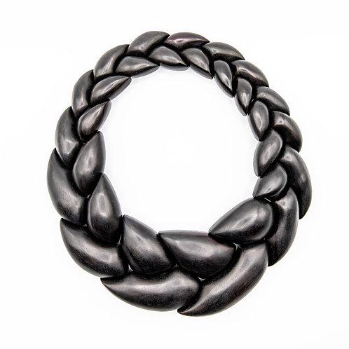 Monies Braided Ebony Necklace