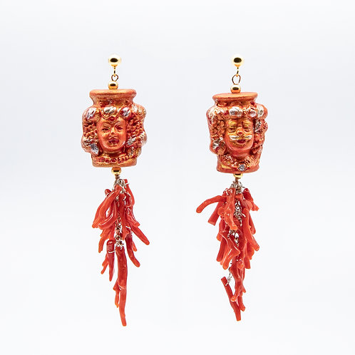"""GP """"Rosso Passione"""" (Red Passion) Earrings"""