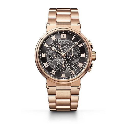 Breguet Marine Chronograph 5527 in Rose Gold