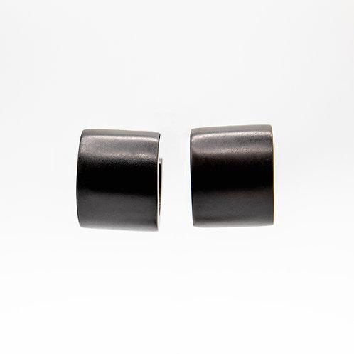 Monies Ebony Hoop Earrings
