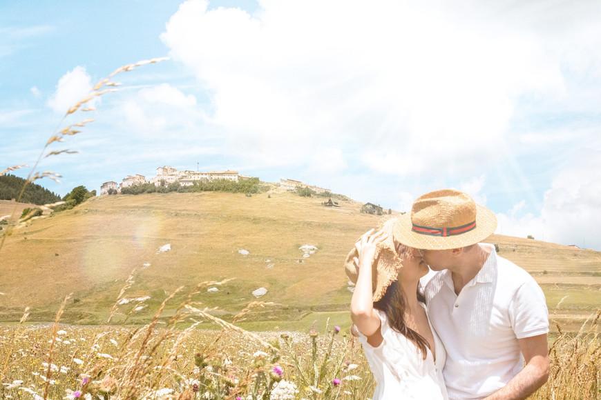 Couple Photo Shoot in Castello di Norcia