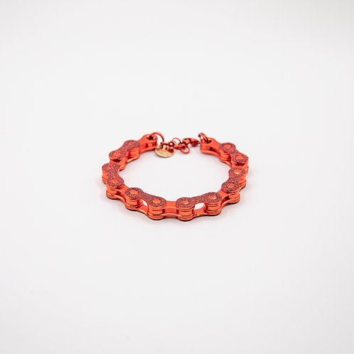 Altair Bracelet Classic Model in Red with Red Glitters