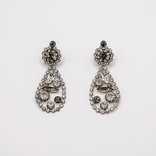 Ornella Bijoux Swarovski Earrings