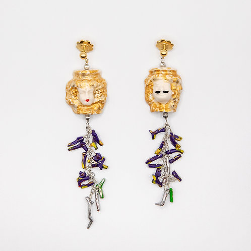 "GP ""Lui e Lei"" (He and She) Earrings"