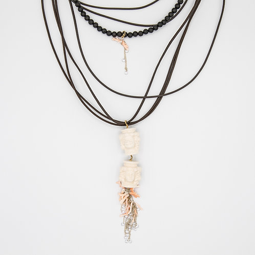 """GP """"Solo con Te"""" (Only with You) Layered Necklace"""