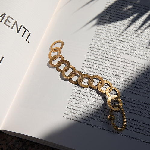 Nanis 18k Gold Chain Bracelet
