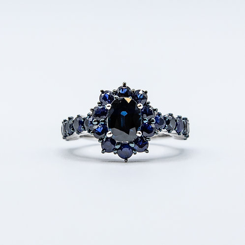 Ultimate Sapphire Ring in White Gold