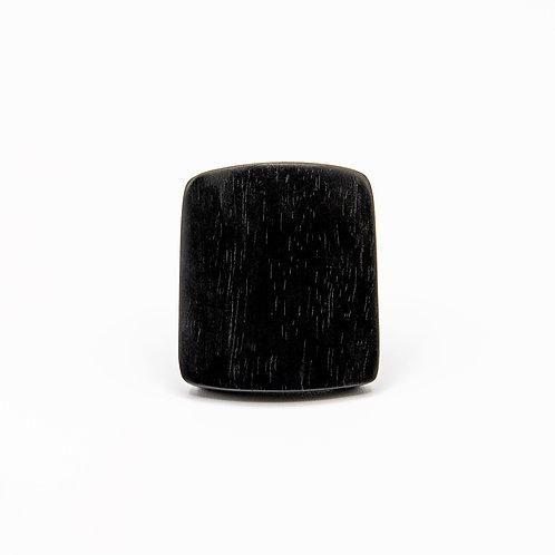 Monies Elongated Ebony Ring