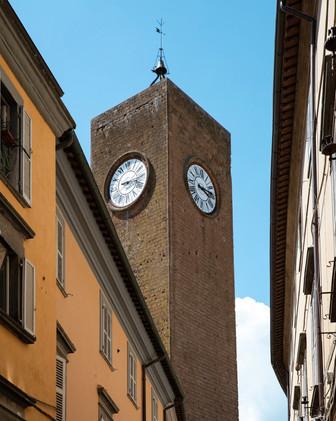 Old Town Center of Orvieto