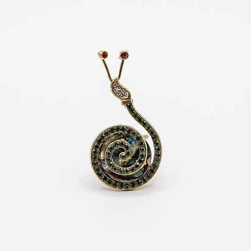Ornella Bijoux Snail Ring
