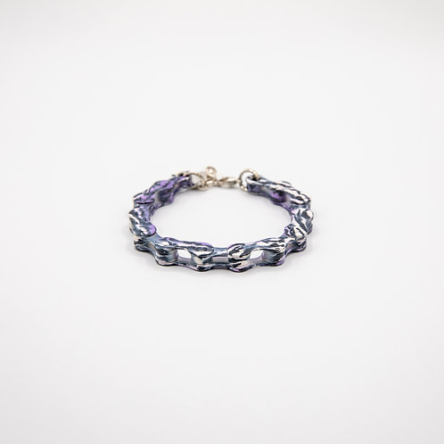 Altair Bracelet Colourful Model in White and Purple Camouflage