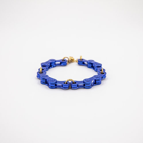 Altair Bracelet Classic Model in Blue with Golden Closure