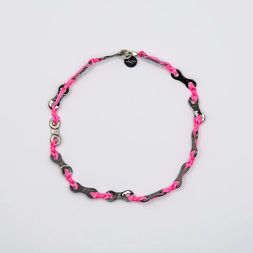 Altair Bracelet Summer Model Choker Short Necklace in Pink
