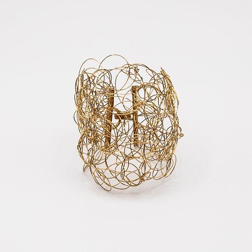 18k Gold Wire Bracelet