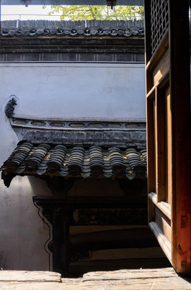 Antique Mansion in An Hui, China