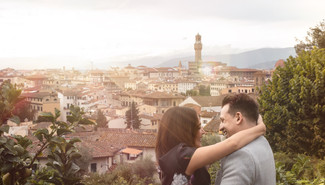 Proposal Shoot in Florence