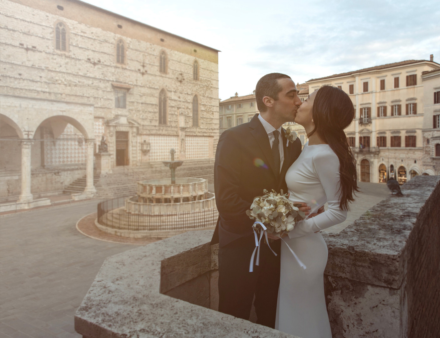 Simple Wedding Registration in Perugia, Italy
